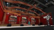 スタジオ内セット風ステージ