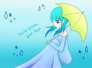 【39の日】rain stops,  good-bye【ミク】