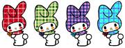 マイメロディ ~お花摘み / チェック柄コレクション~