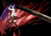 剣と女の子