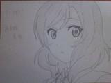 シャーペンで西木野真姫描いてみた