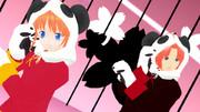 夜兎兄妹×パンダ