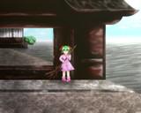 門前の妖怪少女