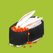 お寿司(いくら)