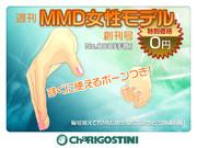 ChaRIGOSTINI 『週刊MMD女性モデル』創刊号 No.000 「手首」