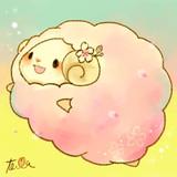 桜:ひつじ