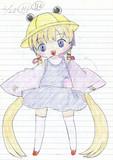 【落書き】諏訪子コスプレアイちゃん【手書き】