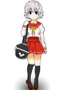 【女学院生徒交換企画】灰色ちゃんは水の色!