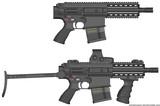 HK417ピストル
