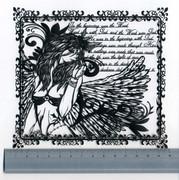 【切り絵】ANGEL DUST【オリジナル】