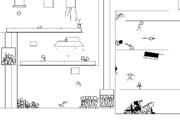 【GIFアニメ】衝撃!棒人間はこうやって作られる!【162フレーム∞】