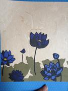 切り絵で「Lotus」