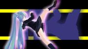 【旋】のモーション(格闘ゲーム風)