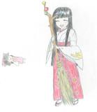 姫様の職業体験 巫女