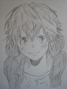 家庭教師ヒットマンリボーンの笹川京子を描いてみた
