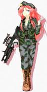 美鈴には人民解放軍装備がピッタリだと思わない?