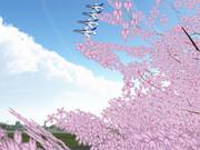 【第一回MMD航空祭】 ブルーインパルス