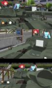 てとねぇと謎のいきものと74式戦車 [MMM/MMD]