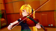 ネルにバイオリンを弾いて頂きました