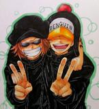 シャチ&ペンギン