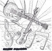 ギター&ベースの点描