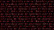 【ささみさん@がんばらない】give me chocolate【壁紙】