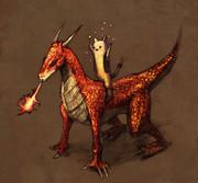 フレイムドラゴンと