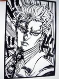 【切り絵】吉良吉影【ジョジョ】