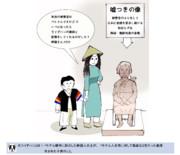 従軍慰安婦像の風刺画(追加)