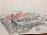 S20エンジン【手描き】