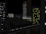 【RailSim】 夜のオフィス街