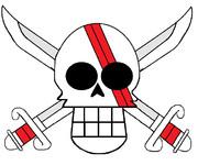 シャンクス 海賊旗