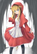 赤頭巾な狼