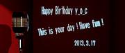 Happy Birthday yoc
