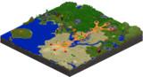 【Minecraft】サバイバルワールド 西地方【mcmap】