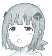 なんとも言えない表情の春香さん