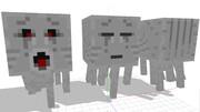 【MMDモデル配布】ガストさん作ったよ【Minecraft】