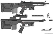 簡易組み立て式ブルパップ銃