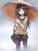 雨の中センバツを見に行く姫川姉貴