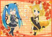 cat's dance × アマツキツネ