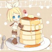 リンちゃんホットケーキ