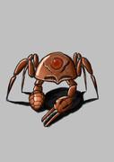 蟹型ロボット