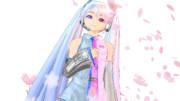 雪桜【MMD再現】