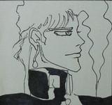 花京院さんのラフ画を模写してみた。