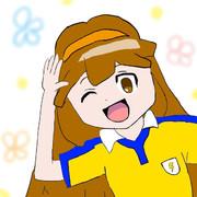 黄名子ちゃんを描いたんだ…!!