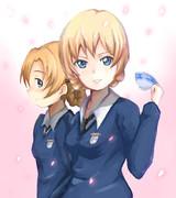 ダージリン&オレンジペコ