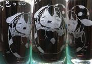 生まれたてゐ!彫ったよ!(8作品目)【痛グラス祭り2013遅刻組】