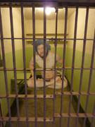 牢屋の中の麻原