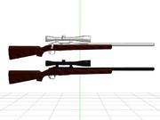 【MMD】Remington Model 700【配布】