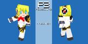 【Minecraft】ペルソナ3「アイギス」 見本 【スキン】